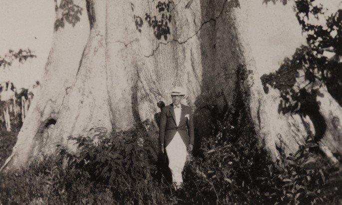 Mário de Andrade nos limites entre Amazonas e Mato Grosso. Acervo do Instituto de Estudos Brasileiros da Universidade de São Paulo.