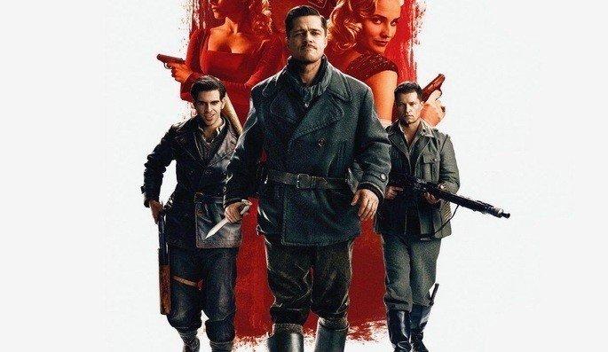 Capa do filme Bastardos Inglórios