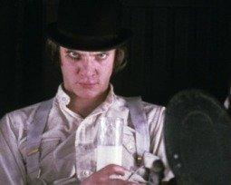 Filme Laranja Mecânica de Stanley Kubrick