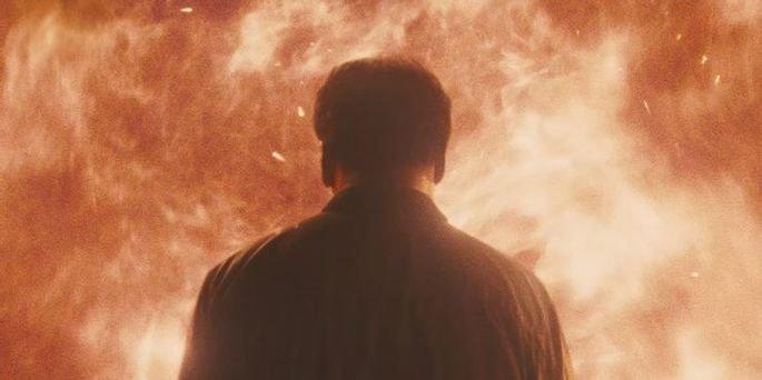 Incêndio no final do filme