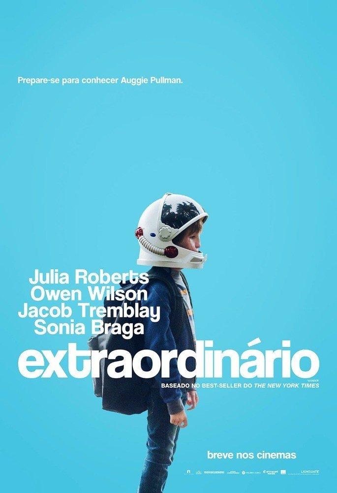 Poster do filme Extraordinário (2017).