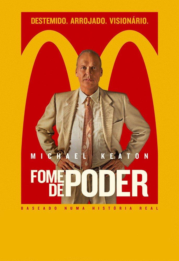 cartaz do filme fome de poder