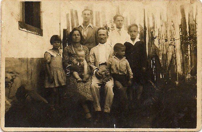 fotografia de família década de 30