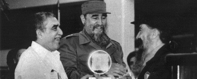 Gabriel García Márquez e Fidel Castro
