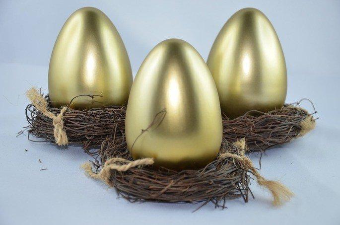 a galinha dos ovos de ouro