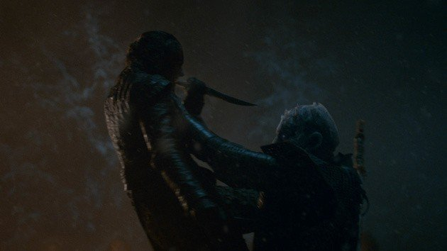 arya mata night king