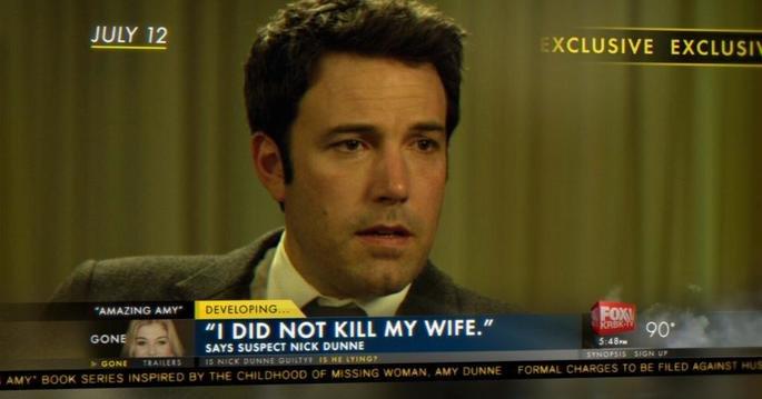 Nick dá uma entrevista na TV