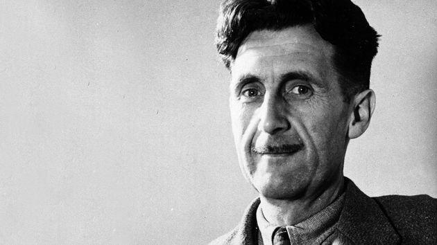 Retrato de George Orwell.