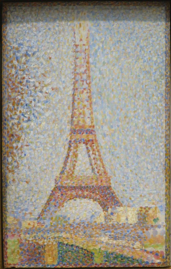 Torre Eiffel (Seurat)