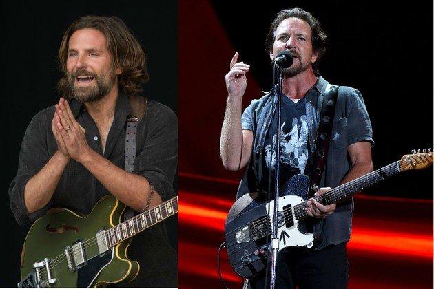 Bradley Cooper teria se inspirado em Eddie Vedder para compor o personagem.