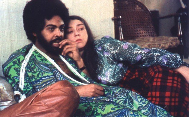 Gilberto Gil e Sandra Gadelha antes da separação e da criação de Drão.
