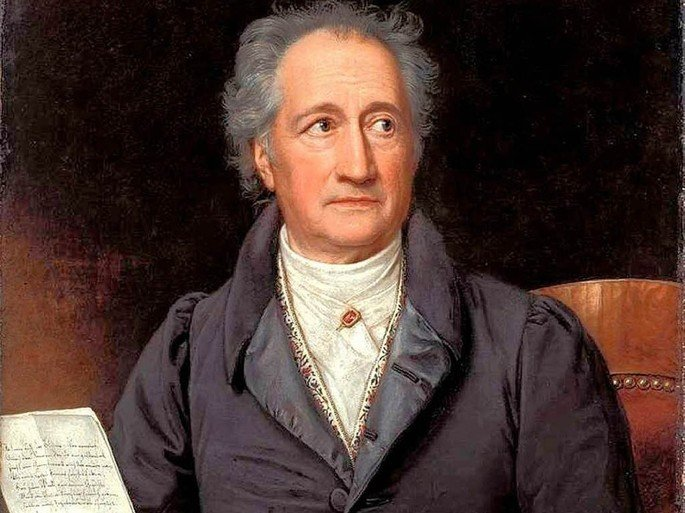 Retrato de Wolfgang von Goethe