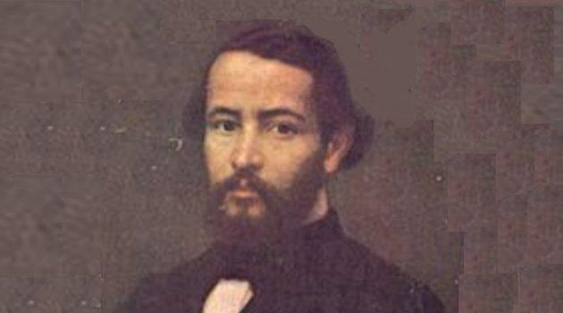 Gonçalves Dias, um dos principais nomes da primeira fase do romantismo no Brasil.