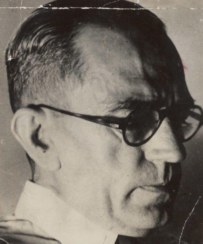 retrato em preto e branco de Graciliano Ramos
