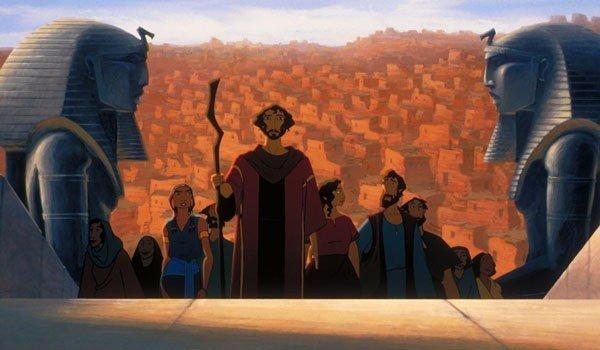 O principe do Egito filme