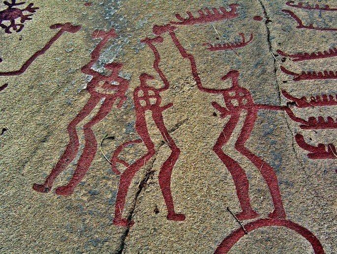 gravuras rupestres