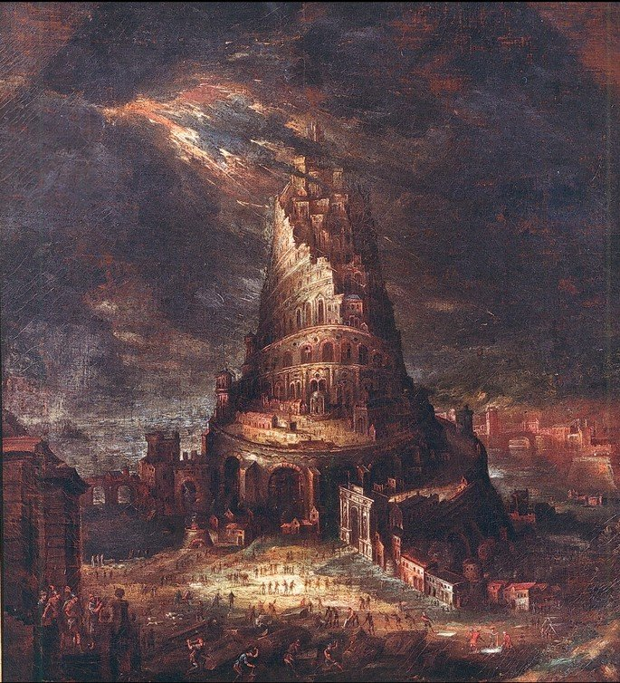 Hans Bol The Tower of Babel