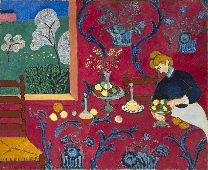 Harmonia em vermelho, Henyri Matisse