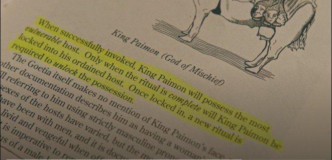 livro - passagem sobre Paimon