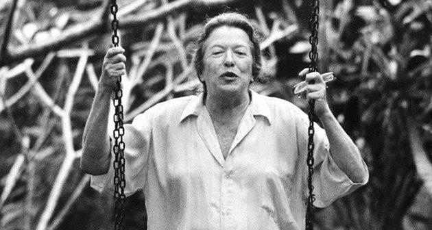 Retrato de Hilda Hilst.