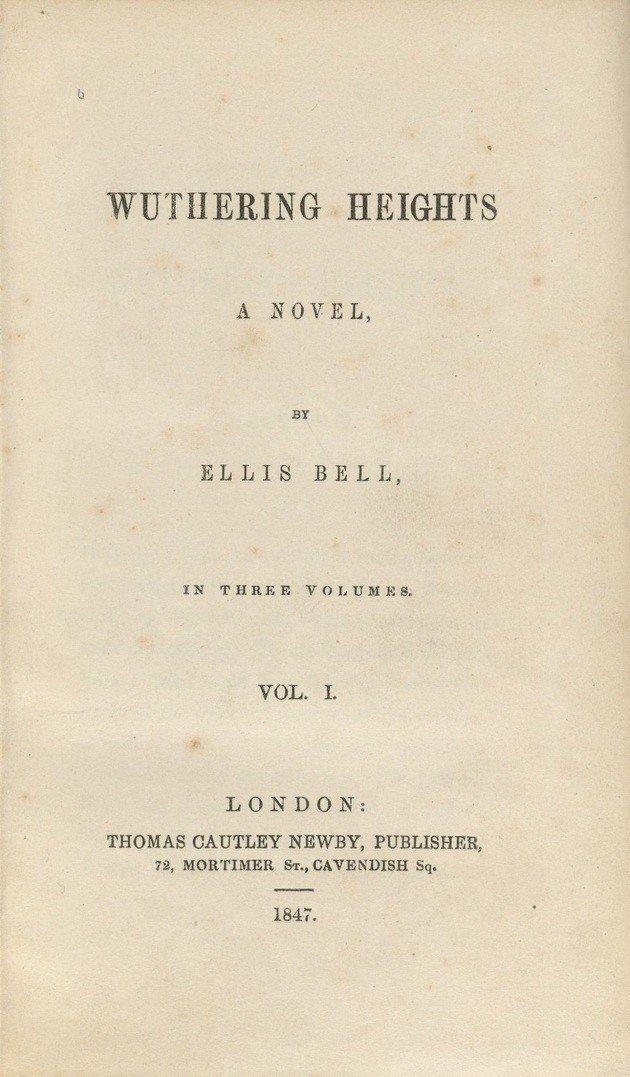 Primeira página da primeira edição.