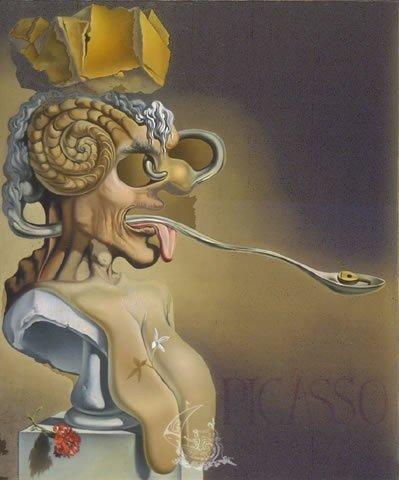 Retrato De Pablo Picasso En El Siglo XXI