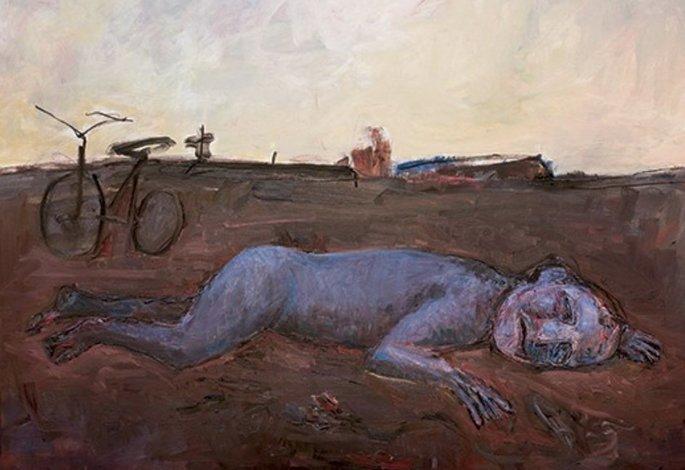 Pintura de Iberê Camargo