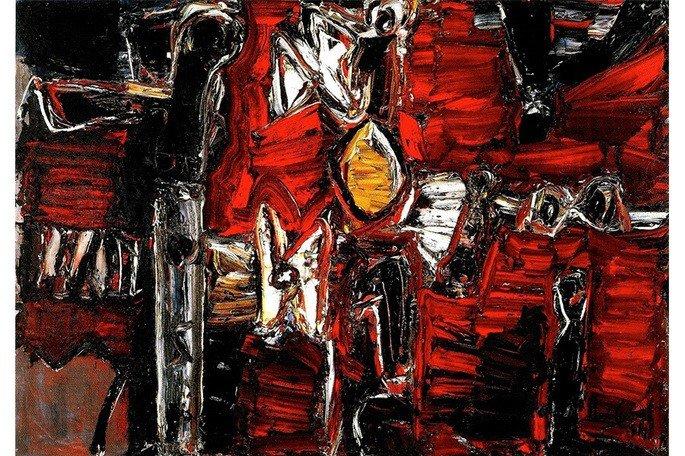 iberê Camargo pintura abstrata
