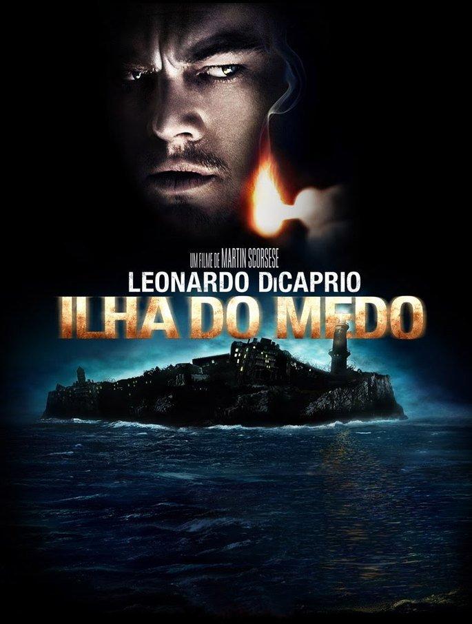 Cartaz do filme Ilha do Medo.