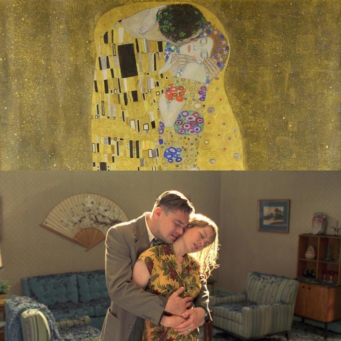 Quadro O Beijo, de Klimt