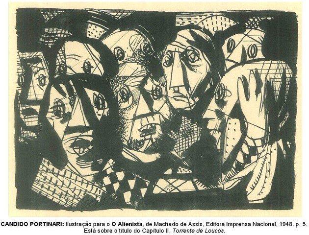 ilustração de Candido Portinari