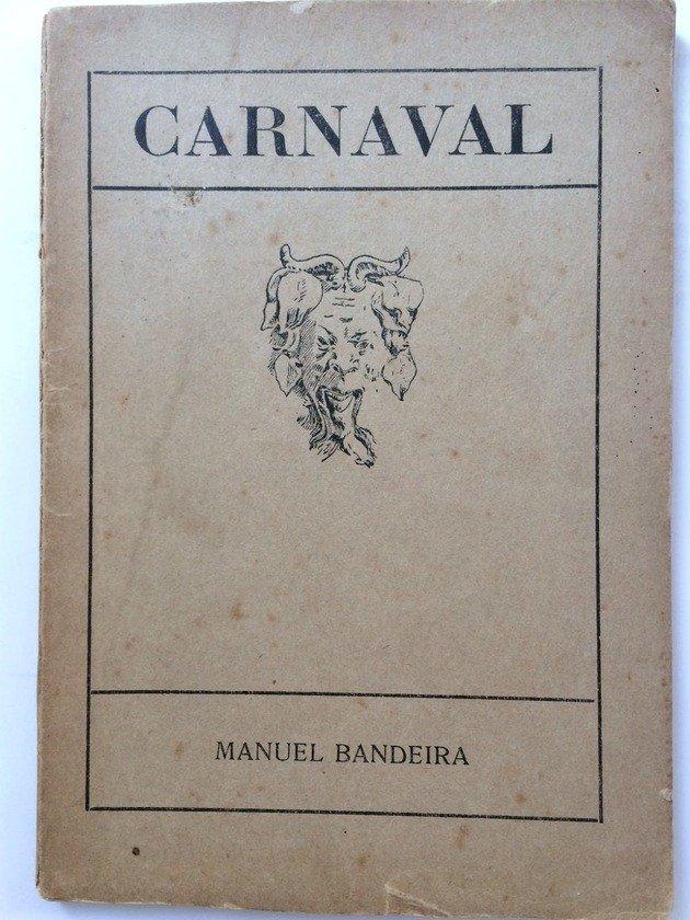 Capa da primeira edição do livro Carnaval (1919) que reúne os versos de Os sapos.