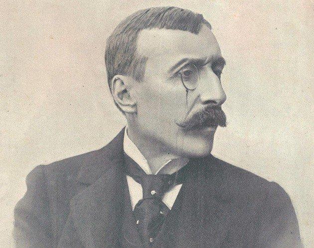 Retrato de Eça de Queiroz.