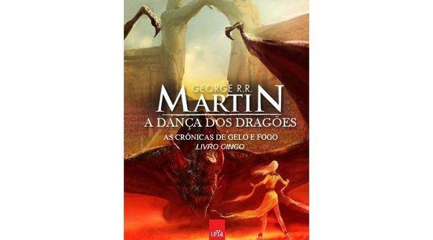 Capa do volume A dança dos dragões.