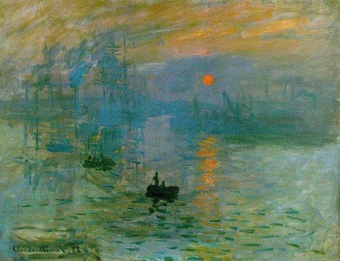impressão, nascer do sol Monet