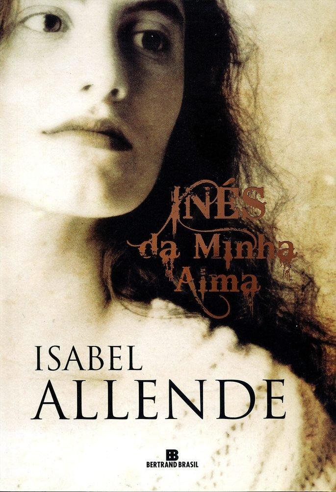 Capa do livro Inês de minha alma