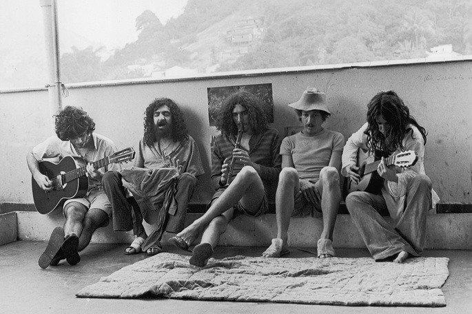 Os Novos Baianos foram um marco dos anos setenta no Brasil