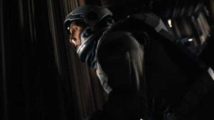 Interestelar Cooper vê o quarto da filha de dentro do hipercubo