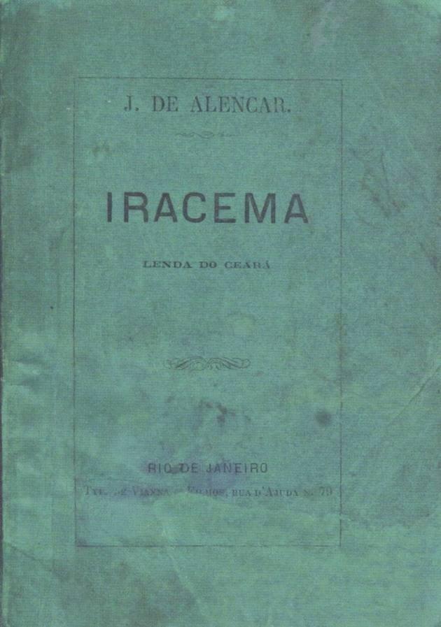 Primeira edição de Iracema.