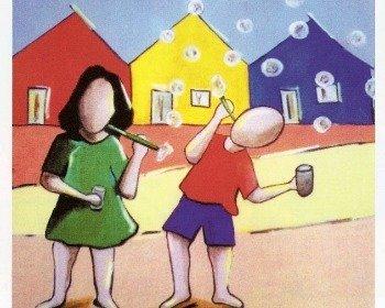 Ivan Cruz e suas obras retratando a infância