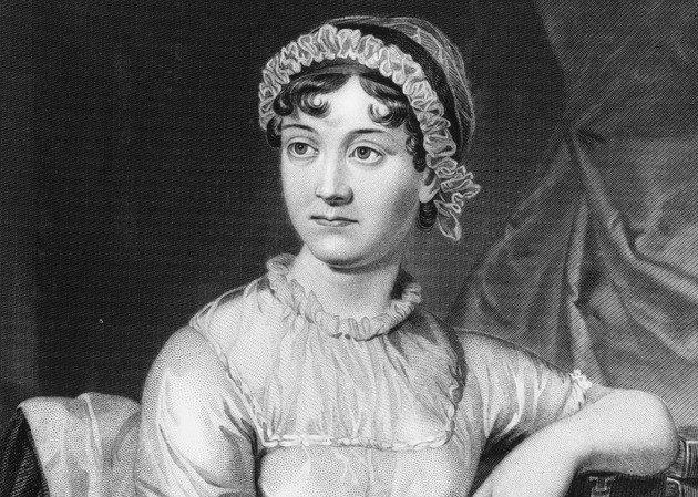 Imagem de Jane Austen.