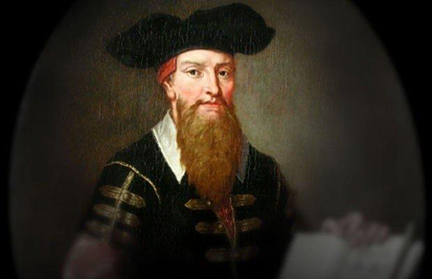 Retrato de Johann Georg Faust