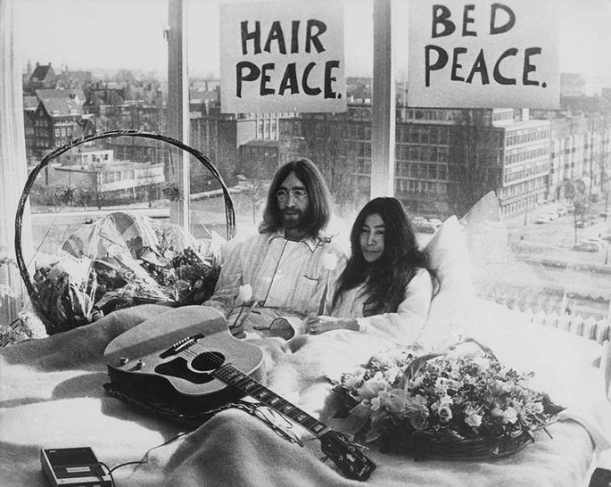 Bed In, John Lennon e Yoko Ono