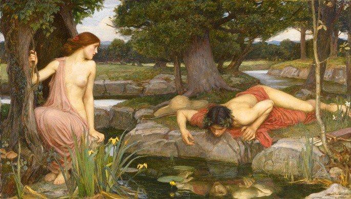 Eco e Narciso, John William Waterhouse