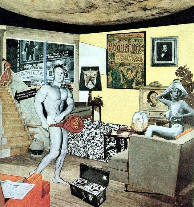 """Just what is it that makes today""s homes so different, so appealing? (1952), de Richard Hamilton"