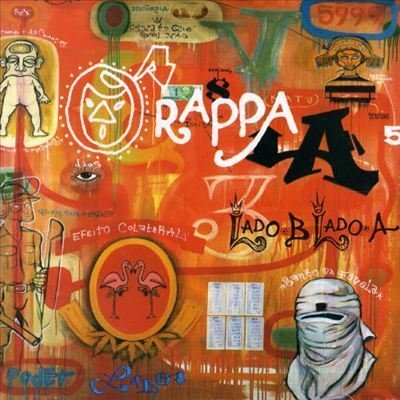 capa do disco lado b lado a (1999) de o rappa