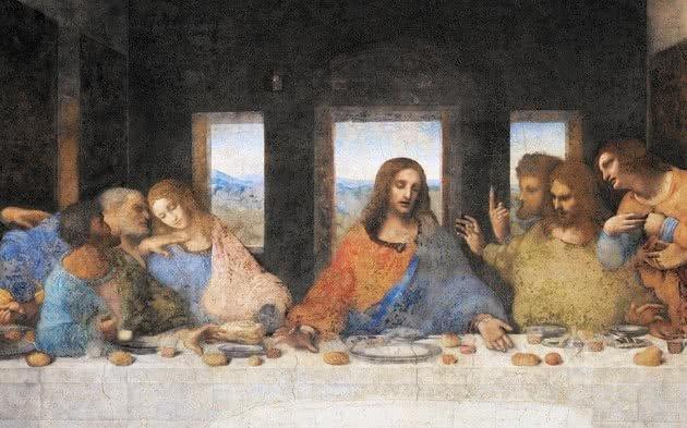 Detalhe de Cristo