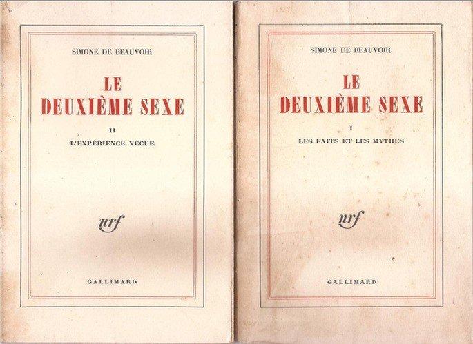 Capa do livro O Segundo Sexo.