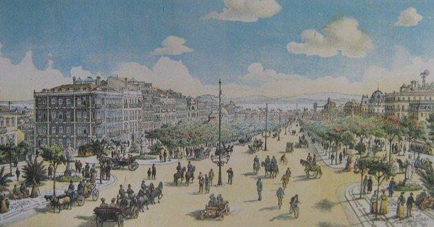 Lisboa no século XIX.