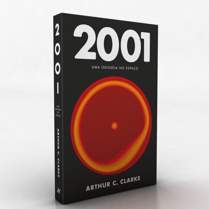 Capa do livro 2001: Uma Odisseia no Espaço